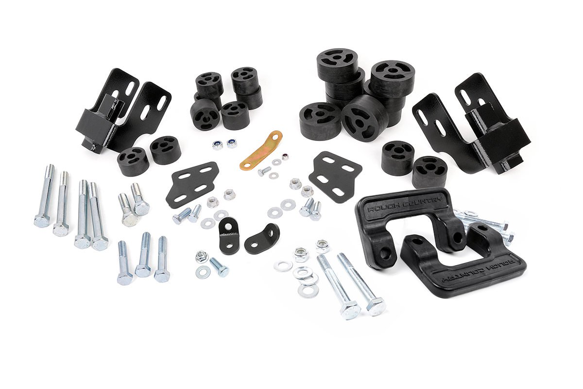 3.25-inch Suspension & Body Lift Combo Kit (Aluminum Control Arm