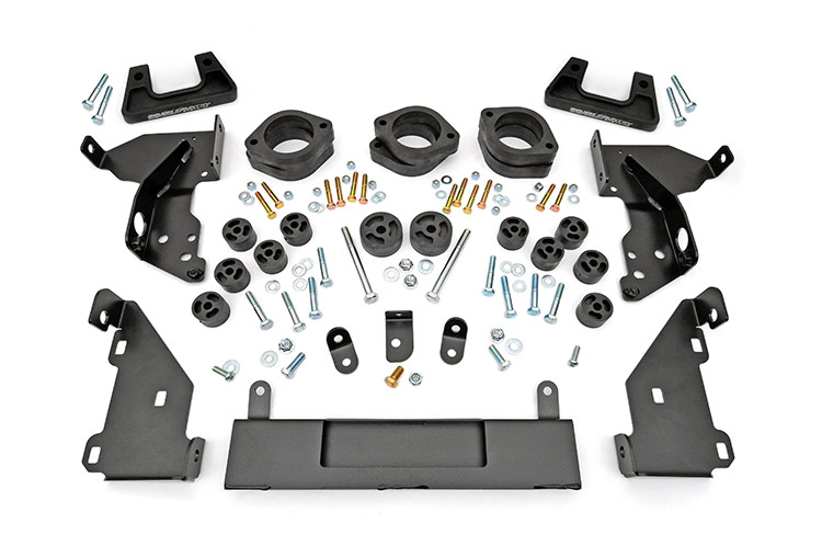3.25-inch Suspension & Body Lift Combo Kit (Steel Control Arms)